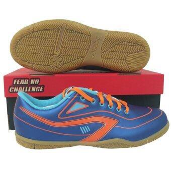 รองเท้ากีฬา รองเท้าฟุตซอล เบรกเกอร์ Breaker BK-0605 COSMOS น้ำเงิน