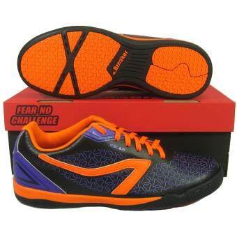 รองเท้ากีฬา รองเท้าฟุตซอล BREAKER BK-1202 ดำ