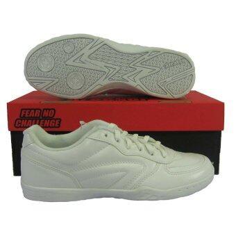 รองเท้ากีฬา รองเท้าฟุตซอล BREAKER BK-89 ขาว