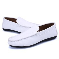 Breathable Mens Shoes Summer Flats 2017 Men Loafers Casual Driving Shoes - Intl ราคา 564 บาท(-80%)