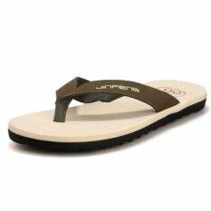 Chaonan ลื่นด้านล่างฤดูร้อนรองเท้าแตะและรองเท้าแตะรองเท้าแตะ (สีเขียว) ราคา 366 บาท(-28%)