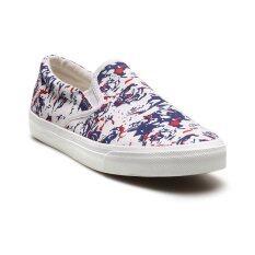 Classy รองเท้าแฟชั่นผู้หญิง รุ่น 2216 - White/ Blue