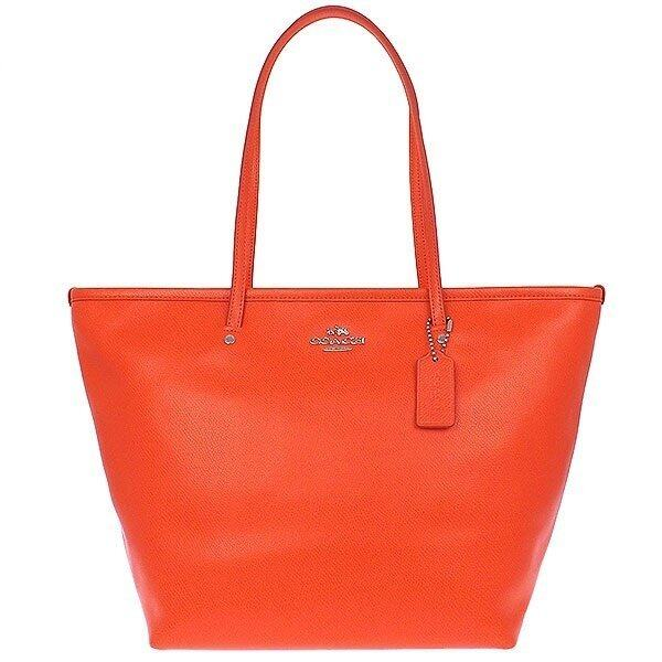 COACH F34103 STREET ZIP TOTE IN LEATHER