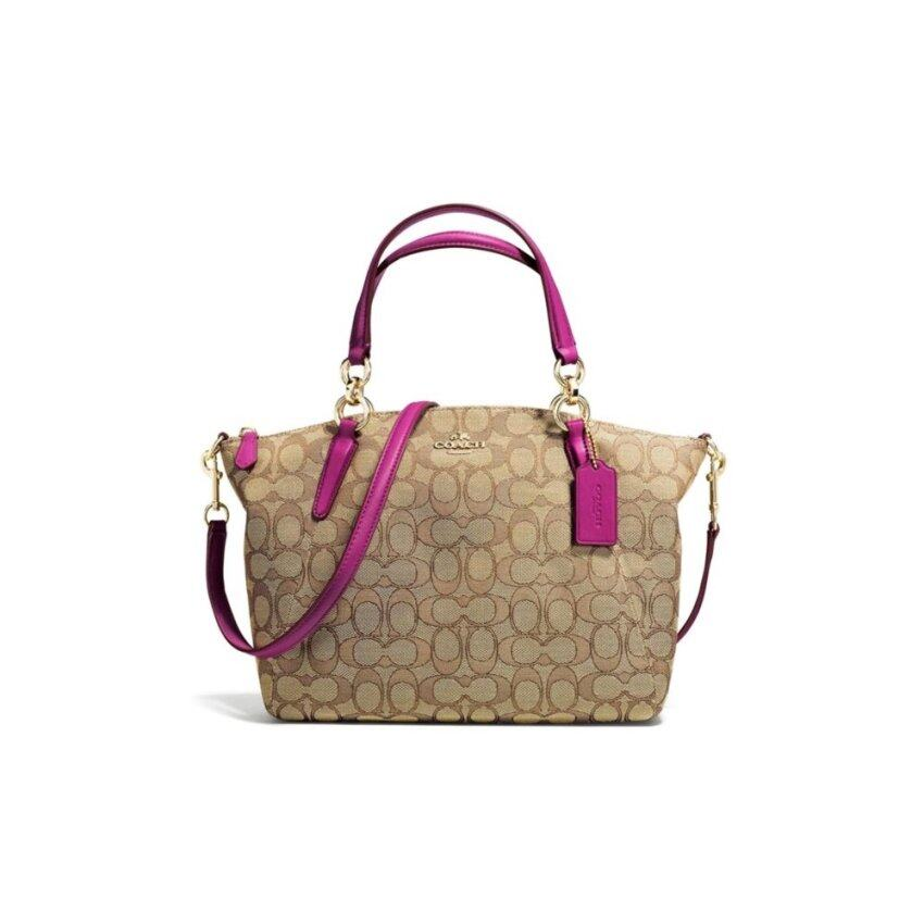 COACH F36625 SMALL KELSEY SATCHEL IN SIGNATURE (IMD9S)
