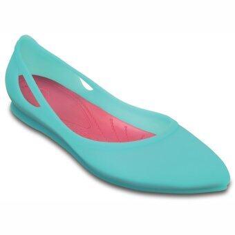 ba979a1cfb4e แนะนำ แนะนำ CROCS รองเท้าแตะ รุ่น Rio Flat W-Bronze Melon-W10