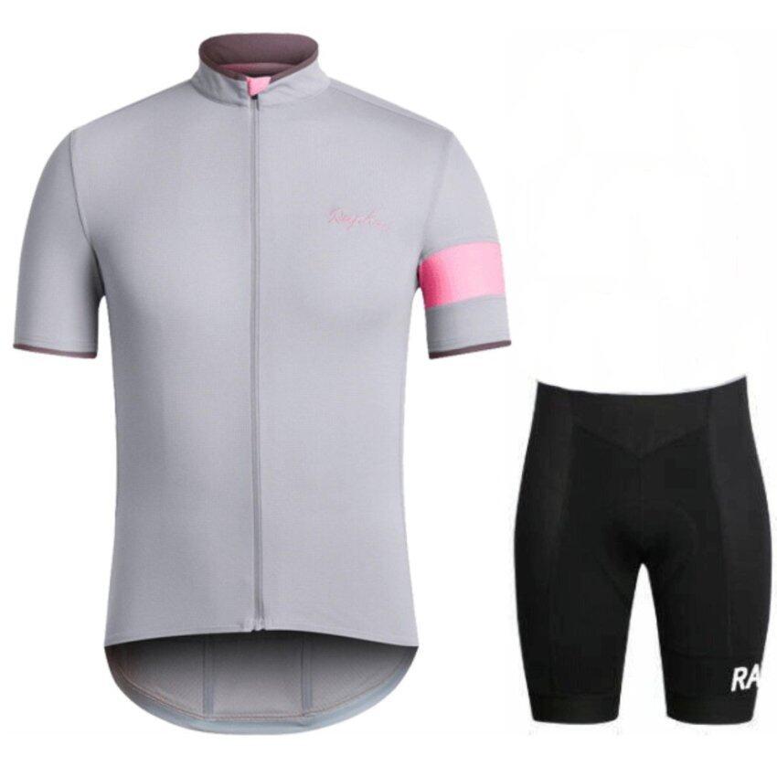 เสื้อจักรยาน / กางเกงปั่นจักรยานRapha (สีเทา)