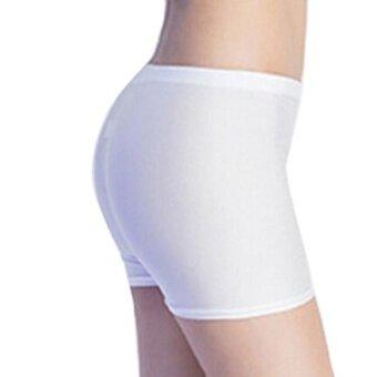 Fashion Women Flat Tiered Short Pants Under Safety Pants Underwear shorts WH - intl
