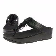 6bcd1e6cf0c3ae Fitflop Cha Cha Black US7 EU38 - รองเท้าใส่สบาย เพื่อสุขภาพ