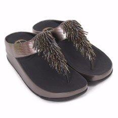 59c62c82f24177 Fitflop Cha Cha Nimbus Silver US7 EU38 - รองเท้าใส่สบาย เพื่อสุขภาพ