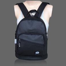 GET1020 กระเป๋าเป้ กระเป๋าสะพาย แฟชั่น VP665lacos (allblack)