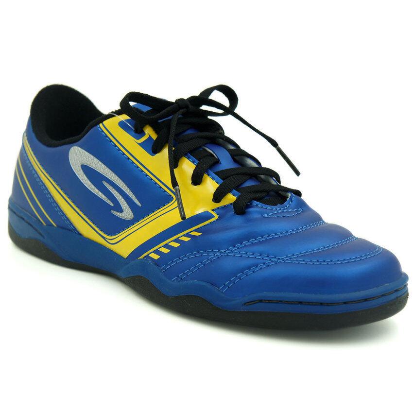 สุดยอด GIGA รองเท้ากีฬาฟุตซอล รุ่น FG403 (สีกรม) ซื้อเลย
