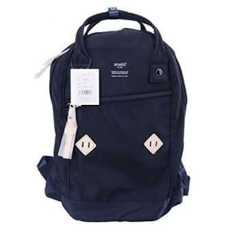 ขายดี เช็คราคา GPL/ Anello Official Blue Japan Fashion Top-Handle Rucksack Backpack