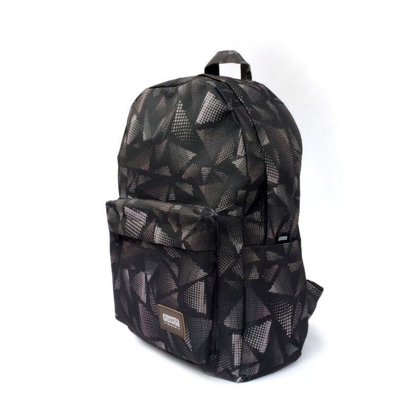 Gussila Backpack Bag กระเป๋าเป้สะพายหลัง รุ่น Thetis (สีน้ำตาล /ดำ)