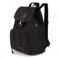 HFSHOP กระเป๋าเป้สะพายหลัง รุ่น 1605 สีดำ