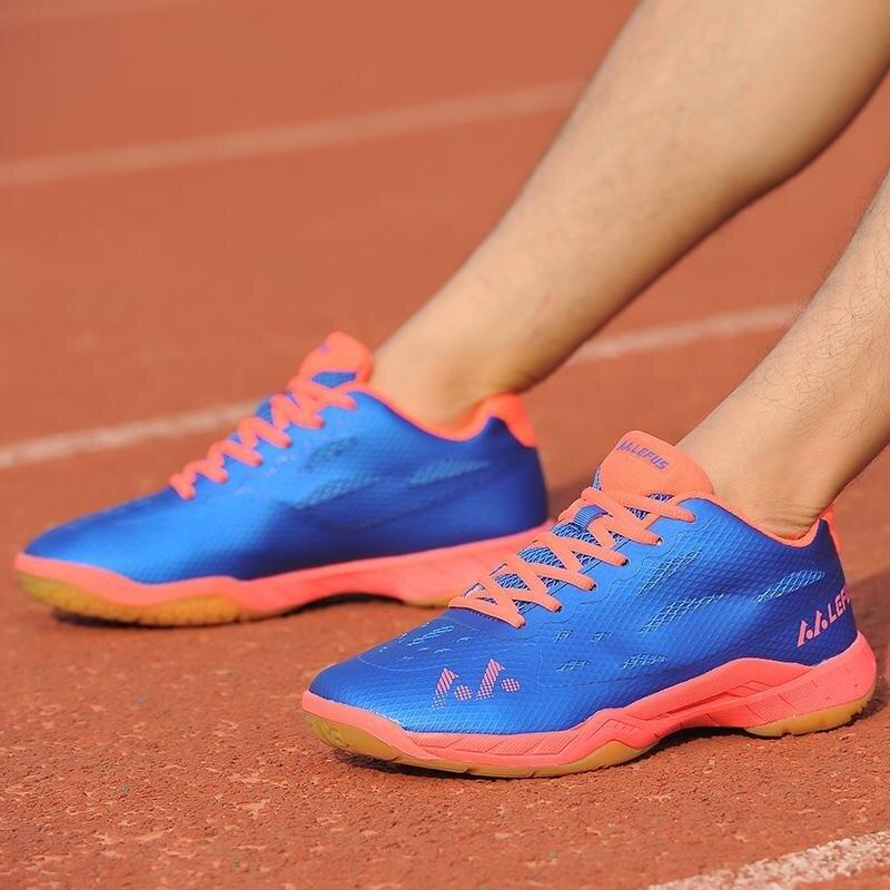 High Quality Comfortable Badminton Shoes Men's Women's Light Badminton Shoes Size: 36-45 - intl