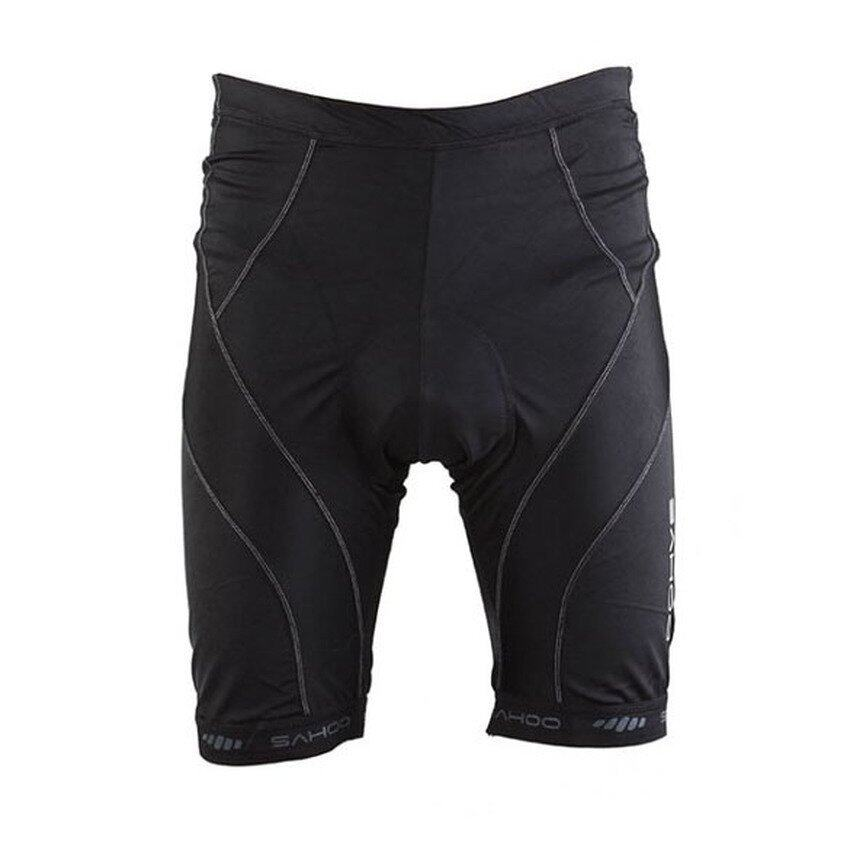 HKS SAHOO Cycling Bike Bicycle Sponge Padded Shorts Underwear Pants Black - intl ...