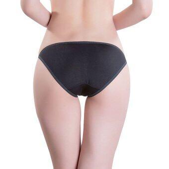 3pcs/lot M L Low Waist Panties for ladies (Black) - Intl (image 2)