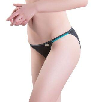 3pcs/lot M L Low Waist Panties for ladies (Black) - Intl (image 1)