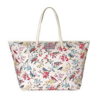 Cath Kidston กระเป๋าถือผู้หญิง Woman Fashion Canvas Waterproof bag Large Trimmed Tote bag