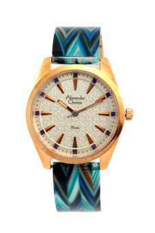 Alexandre Christie นาฬิกาข้อมือผู้หญิง สีน้ำเงิน