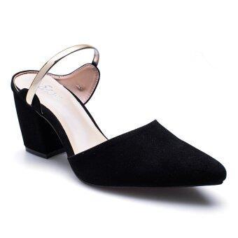 ESTHER รองเท้าแฟชั่นผู้หญิง รุ่น M207-Black