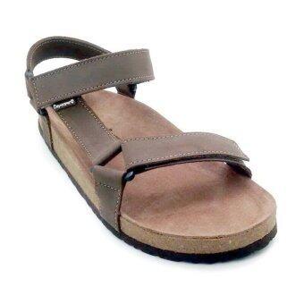 รองเท้าเด็กหนังแท้ 100 %รุ่น S001 สีน้ำตาล
