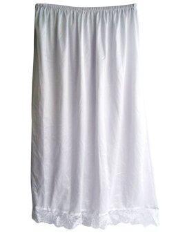 กระโปรงชั้นใน Petticoat รุ่น SAN ผ้าไนลอน สีขาว