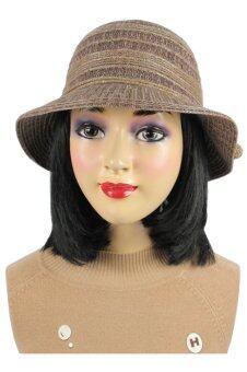 KENZO DESIGN หมวกนิตติ้ง Style Metoro(สีBROWN)