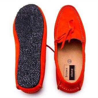 Brown Stone รองเท้าหนังทรง Casualist