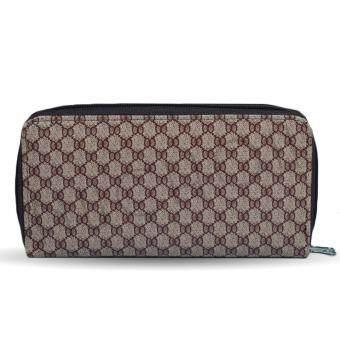 Nuchon Bag กระเป๋าตังสตางค์ ใส่มือถือ Iphone 6Plus Size Lรุ่น GICCI/LightBrown