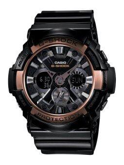 Casio G-Shock Men's Black Resin Strap Watch GA200RG-1A