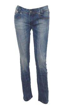 EAY กางเกงขายาวยีนส์ยืด jea-la2015blสีกรมฟอก