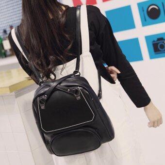 Nitta Bag กระเป๋าสะพายหลัง กระเป๋าเป้ กระเป๋าแฟชั่นผู้หญิง รุ่น NT-098(สีดำ)