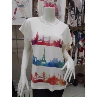 November T Shirts เสื้อยืดฟรีไซส์ เสื้อผู้หญิงสรีนลายน่ารัก รหัส L100 N014