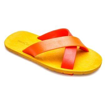 blackOut รองเท้าแตะ BO-1001 สีแดง-ส้ม