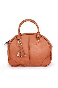 Oasis กระเป๋าผู้หญิง รุ่น Leather Sport Hand Bag ( Brown )