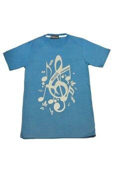 NOLOGO เสื้อยืด รุ่น ตัวโน๊ต (สีเทาอากาศ)(Int:S)