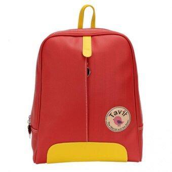 Tavii กระเป๋าเป้ Work (Red)