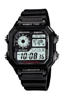 Casio Standard นาฬิกาข้อมือ - รุ่น AE-1200WH-1A Black