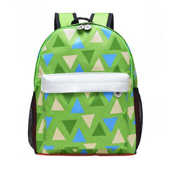 Children School Bag Backpack Cute Baby Toddler Shoulder Bag Green