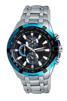 Curren นาฬิกาข้อมือสุภาพบุรุษ สายสแตนเลส รุ่น C8023 - Silver/Blue