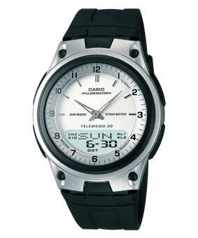 Casio Standard นาฬิกาข้อมือ รุ่น AW-80-7A (Black)