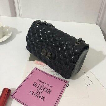 Chain Bag Black กระเป๋าสะพาย สายโซ่ สีดำ