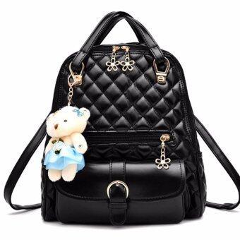กระเป๋าเป้ แฟชั่น ผู้หญิง รุ่น KLY-35353-2 (Black)