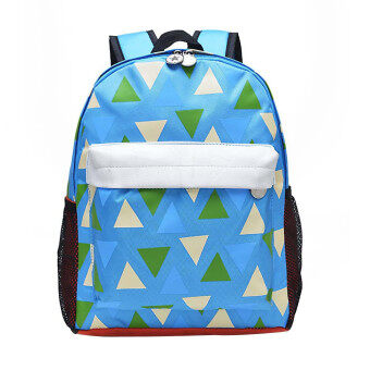 Children School Bag Backpack Cute Baby Toddler Shoulder Bag Blue