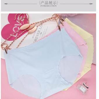 (คละสี6ตัว)กางเกงชั้นในญี่ปุ่น ไร้ขอบ สีหวานพาสเทล