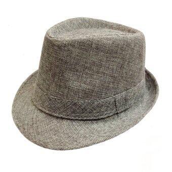 OASIS หมวกทริลบี้ Trilby รุ่น AMCP9613-GM สีเทา