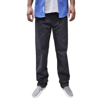 OASIS กางเกงขายาวผู้ชาย Big Size รุ่น Chino Pants MCH8441-GM สีเทา