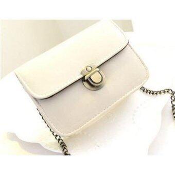 Moniga กระเป๋าถือพร้อมสายสะพาย รุ่น White Berry สีขาว