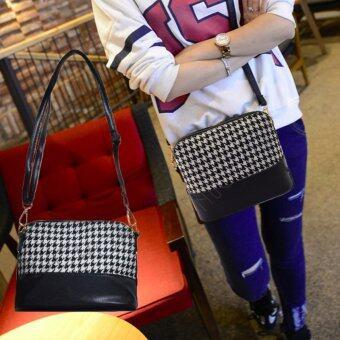 NuChon Women Bag กระเป๋าสะพายพาดลำตัวลายชิโนริ Body Bags/Shinori